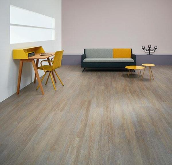 Loại sàn này có màu sắc đa dạng