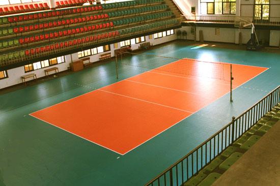 sàn lót sân cầu lông