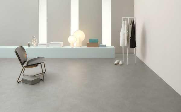 Sàn nhựa hèm khóa cao cấp Marmoleum Click màu bê tông